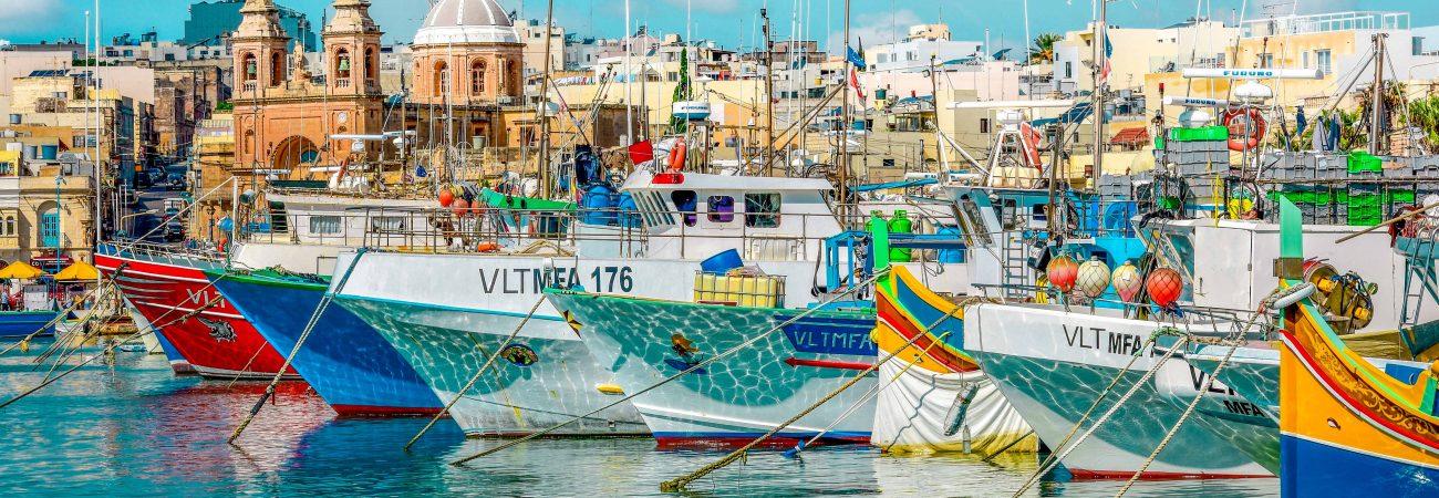 harbors of malta